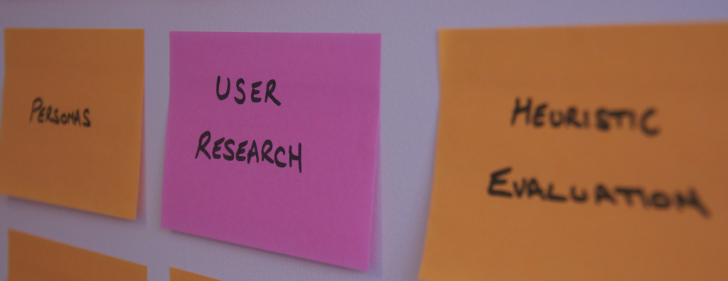 User Research Post-its